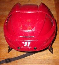 WARRIOR KROWN 360 PRO HELMET brick red (NM condition) made for Arizona Coyotes
