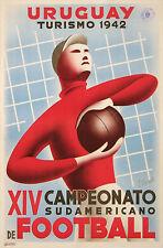 URUGUAY XIV CAMPEONATO SUDAMERICANO de FOOTBALL TURISMO 1942 FIFA - BY BONELLI