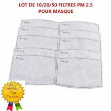 Lot 10/20/50 Filtres Charbon PM2.5 de rechange pour masque envoi suivi offert !!