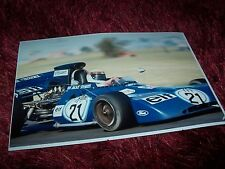 Photo  TYRRELL Ford Cosworth Jackie Stewart Grand Prix d'Argentine 1972