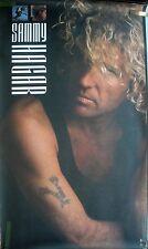 Rare Sammy Hagar Never Said Goodbye 1987 Vintage Music Record Store Promo Poster