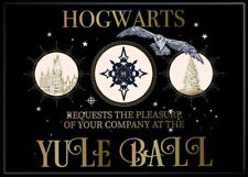 Harry Potter Photo Quality Magnet Yule Ball Invitation