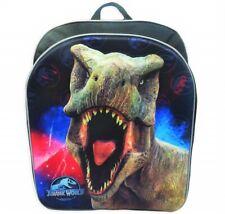 "Jurassic World Park Ragazzi 16 "" Full-Size Zaino W/Opzionale Isolato Pranzo Box"