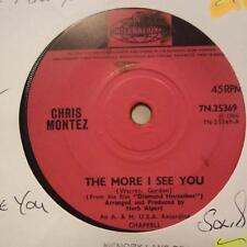 "Chris Montez(7"" Vinyl)The More I See You / You I Love You-Pye-7N 25369-Ex/VG+"