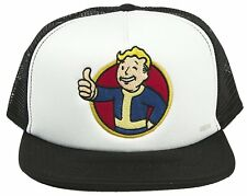 Vault boy White Trucker Hat