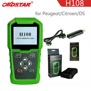OBDSTAR H108 PSA Programmer Support All Key Lost/Pin Code Read/Cluster Calibrate