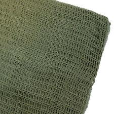NEW British Army Military Mesh Cadet Para TA Sniper Scrim Net Scarf Veil Green