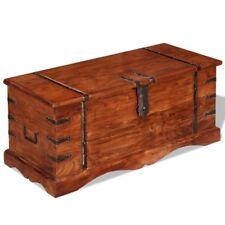 vidaXL Massivholz Aufbewahrungstruhe Holztruhe Couchtisch Beistelltisch Vintage