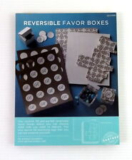 Gartner Studios Reversible Favor Boxes Ivory Gold 50 Boxes & Tags Wedding Party