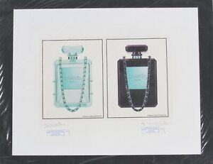 Chanel No 5 Perfume Diptych Print by Fairchild Paris Artist's Proof