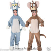 CK341 Tom and Jerry Mouse Cartoon Kids Boys Girls Tweety Child Costume