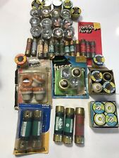 *** LOT OF 50 + Fuses - Fusetron -tron  Etc. Assorted Fuses Glass & Dual Element