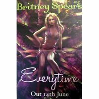 BRITNEY SPEARS RIESENPOSTER GIANT POSTER EVERYTIME 150x100cm