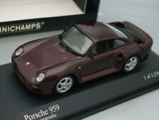 1/43 Minichamps PORSCHE 959 1987 (DARK RED METALLIC)