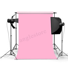 3x5ft Pink Thin Vinyl Photography Background Backdrop Studio Photo Props Party