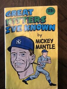 Mickey Mantle Comic Book