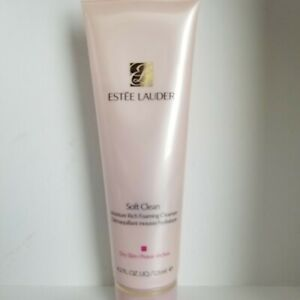 ESTEÈ LAUDER -SOFT CLEAN  -  125ML/4.2OZ -  Moisture Rich Foaming Cleanser