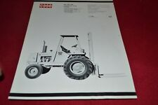 Case Tractor 584 585 586 Fork Lift Dealer's Brochure YABE14