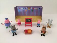 Lot Of 6 Peppa Pig Figures And Accessories