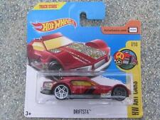 Hot Wheels 2017 #063/365 driftsta Rojo HW Arte CARS