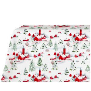 Table service with napkins TAG HOUSE Valais Christmas rectangular