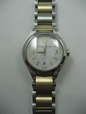 "BAUME MERCIER ILEA SS/18K WATCH 8773 ""MINT"""