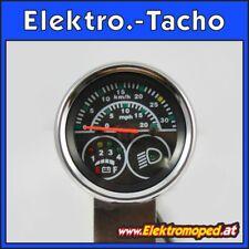 Ersatzteil Elektro-Roller Elektronischer Tacho 36V km/h und mph Anzeige 5 Pol