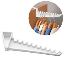 Durable Plastic Space Saving Hooks Over The Door Cloths Sweater Organizer Hanger