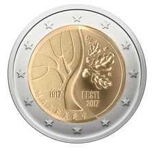 ESTONIA - 2 € euro commemorative coin 2017 - Estonia`s road to Independence