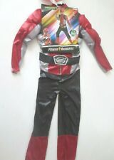 Red Ranger Beast Morpher Mask Muscle Size M 7/8 Boys Costume Disguise 7el6zx1