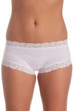 NEW Jockey 'Parisienne' Cotton Boyleg W8120D White