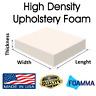 "Foamma High Density Custom Cut Upholstery Foam Cushion Seat Replacement 24""x72"""