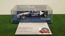 F1 WILLIAMS BMW FW23 SCHUMACHER 2001 Compaq 1/43 MINICHAMPS 400 010005 formule 1