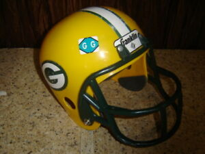 Child Toy Franklin Green Bay Packers Youth Size Football Helmet For Costume  GG