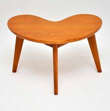 RETRO WALNUT BOOMERANG COFFEE / SIDE TABLE VINTAGE 1960's