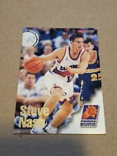 1996 1997 NBA Hoops Steve Nash Rookie Basketball Card #304 Skybox Suns MVP HOF