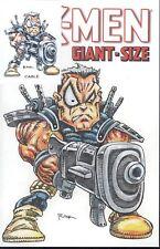 X-Men Giant-Size W/Original Art by RAK & Hand Signed ACEO Card