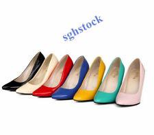 2019 Women Pointed Toe High Heels Stilettos Formal Plus SIze Pumps OL SHoes T66