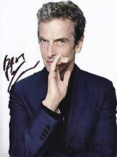 Peter Capaldi Signed 10X8 Photo DR WHO Genuine Autograph AFTAL COA (7351)