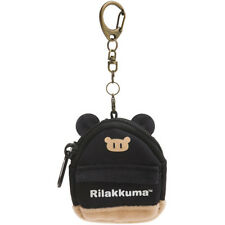 Rilakkuma Keychain Key Holder Backpack Shape Black San-X Japan