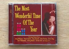 The Most Wonderful Time Of The Year Christmas 1 CD ONLY Greatest Collection