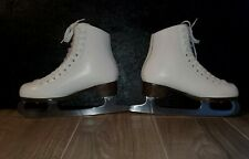New listing Gam Youth White Figure Skating Ice Skates Free Style Boots- Size 4 Style #c