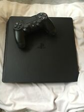 Sony PlayStation 4 Slim 1TB Jet Black Console.