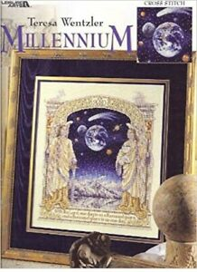 Leisure arts Teresa Wentzler  cross stitch chart  3120 Millenium