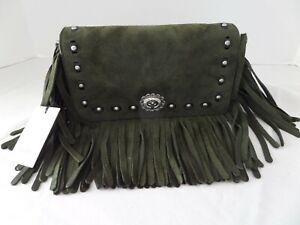 Coach 1941 Shoulder bag or Clutch Dinky fern Suede Fringe Limited Edition
