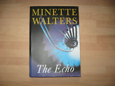 Minette Walters - The Echo *Signed* 1997 uncorrected proof crime Clive Owen BBC