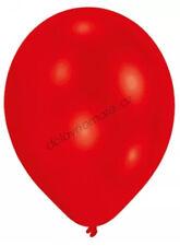 100 Metallic Cherry Red Party Balloons Birthday Christmas Decoration 30cm Helium