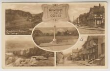 Surrey postcard - Greetings from Oxted - Multiview showing 5 views