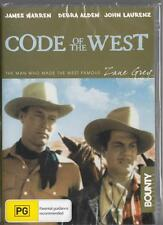 CODE OF THE WEST - ZANE GREY - NEW & SEALED R4 DVD FREE LOCAL POST