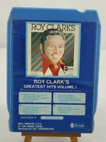 """VINTAGE ROY CLARKS """"Greatest Hits Vol.1"""" 8 -Track  ABC/GRT 8310-2030H 1975"""